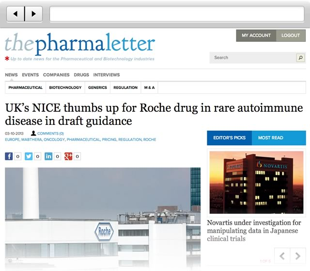 The Pharma Letter site launch
