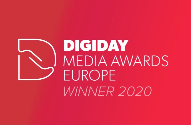 Digiday Award Winners!